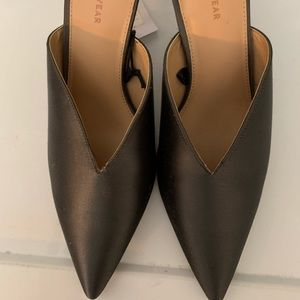 NWT Who What Wear Size 10 Backless Heels